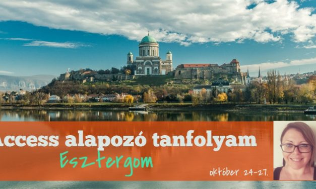 2019. október 24-27. Alapozó tanfolyam Esztergom